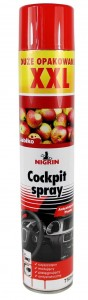 SPRAY DO COCKPITU NIGRIN 750ml - JABŁKO